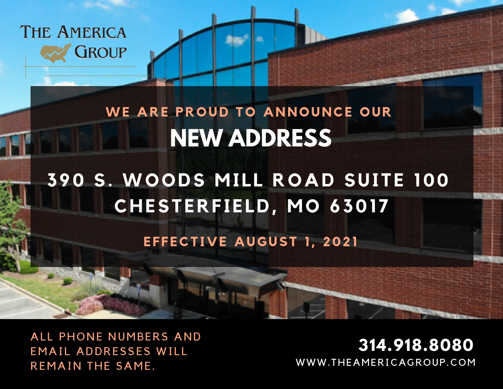 The America Group Move Announcement 72321